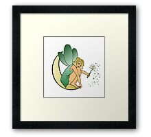 Fairy Half Moon Framed Print