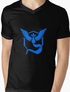 Pokemon Go Team Mystic (Blue Team) Mens V-Neck T-Shirt