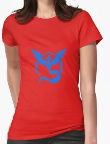 Pokemon Go Team Mystic (Blue Team) Womens Fitted T-Shirt