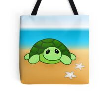Kenny - the baby tortoise Tote Bag