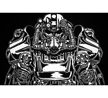 Fallout 4 T60 Power Armour Brotherhood of Steel Photographic Print