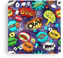 Pop Slang I, by American Jank Brand Canvas Print
