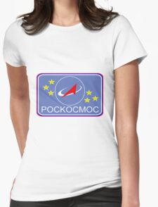 Roscosmos Flight Suit Patch Womens Fitted T-Shirt