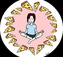 Pizza Meditation by lowse