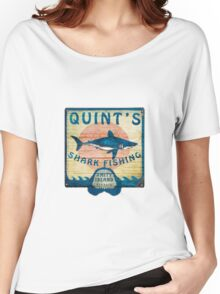 Quint's Shark Fishing Women's Relaxed Fit T-Shirt