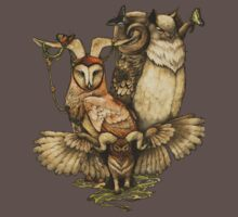 Goatowls (colour) Kids Clothes