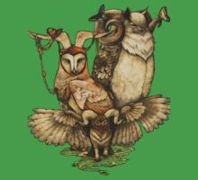 Goatowls (colour) One Piece - Short Sleeve