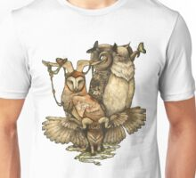 Goatowls (colour) Unisex T-Shirt