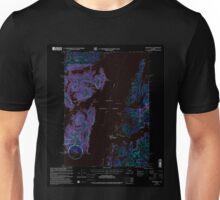 USGS TOPO Map Alaska AK Seward B-3 358908 2000 63360 Inverted Unisex T-Shirt