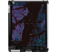USGS TOPO Map Alaska AK Seward B-3 358908 2000 63360 Inverted iPad Case/Skin