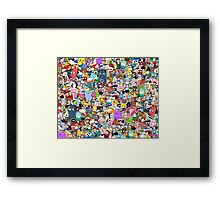 Pop Culture Collection Framed Print