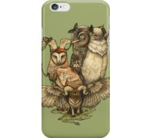 Goatowls (colour) iPhone Case/Skin