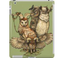 Goatowls (colour) iPad Case/Skin