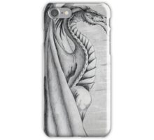White and Black Dragon. iPhone Case/Skin