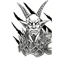 Goatlord Metal Claw Strike Photographic Print