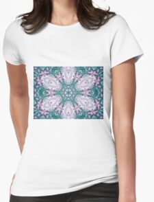 Mandala - Abstract Fractal Artwork Womens Fitted T-Shirt