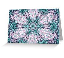 Mandala - Abstract Fractal Artwork Greeting Card