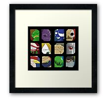 Kings and Queens of Wasteland Framed Print