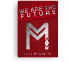 vote Magneto campaign  Canvas Print