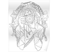 Photography - Line Art Poster