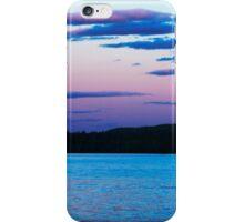 Sunset On Eagle Lake iPhone Case/Skin