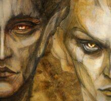 Melkor and Sauron Sticker