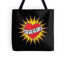 Classic Mom tattoo design Tote Bag