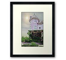A Victorian Seaside Cottage Framed Print