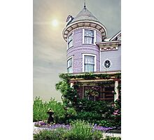 A Victorian Seaside Cottage Photographic Print