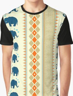 Ethnic Pattern Graphic T-Shirt