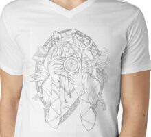 Photography - Line Art Mens V-Neck T-Shirt