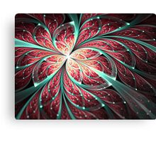 Butterfly - Abstract Fractal Artwork Canvas Print