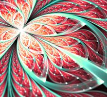 Butterfly - Abstract Fractal Artwork Sticker