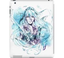 Songstress Aqua iPad Case/Skin