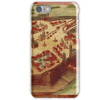 Gotha Vintage map.Geography Germany ,city view,building,political,Lithography,historical fashion,geo design,Cartography,Country,Science,history,urban iPhone Case/Skin