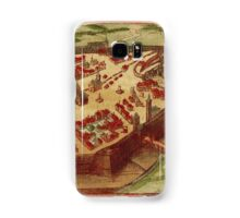 Gotha Vintage map.Geography Germany ,city view,building,political,Lithography,historical fashion,geo design,Cartography,Country,Science,history,urban Samsung Galaxy Case/Skin