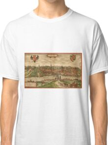 Gorlitz Vintage map.Geography Germany ,city view,building,political,Lithography,historical fashion,geo design,Cartography,Country,Science,history,urban Classic T-Shirt