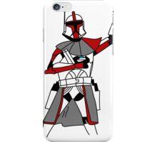 Red Clone Trooper  iPhone Case/Skin
