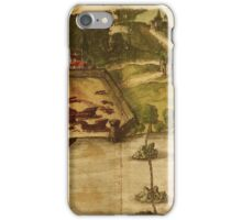 Goa Vintage map.Geography india ,city view,building,political,Lithography,historical fashion,geo design,Cartography,Country,Science,history,urban iPhone Case/Skin