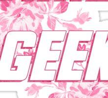 Fake Geek Girl Sticker