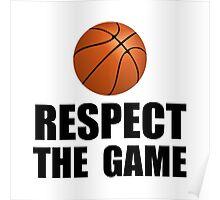 Respect Basketball Poster