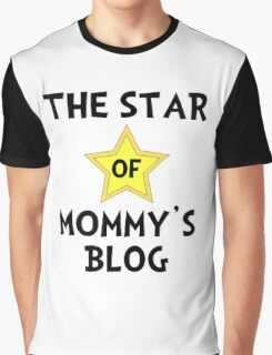 Mommy's Blog Star Graphic T-Shirt