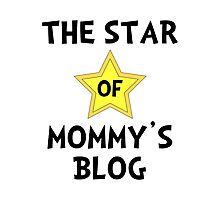 Mommy's Blog Star Photographic Print