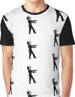 TV Zombie Graphic T-Shirt