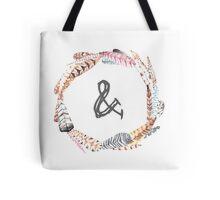 Feather Monogram & Tote Bag