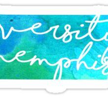 University of Memphis Sticker