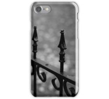 Gothic Fence iPhone Case/Skin