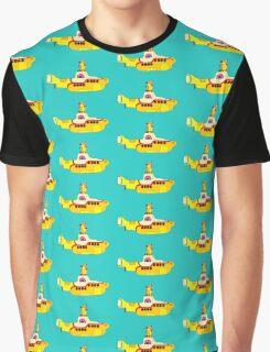 Yellow Sub Graphic T-Shirt
