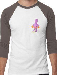 Cute Mudkip shiny Men's Baseball ¾ T-Shirt