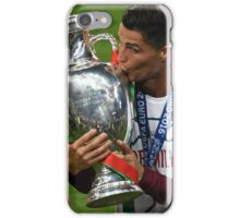 Cristiano Ronaldo celebration euro 2016 iPhone Case/Skin